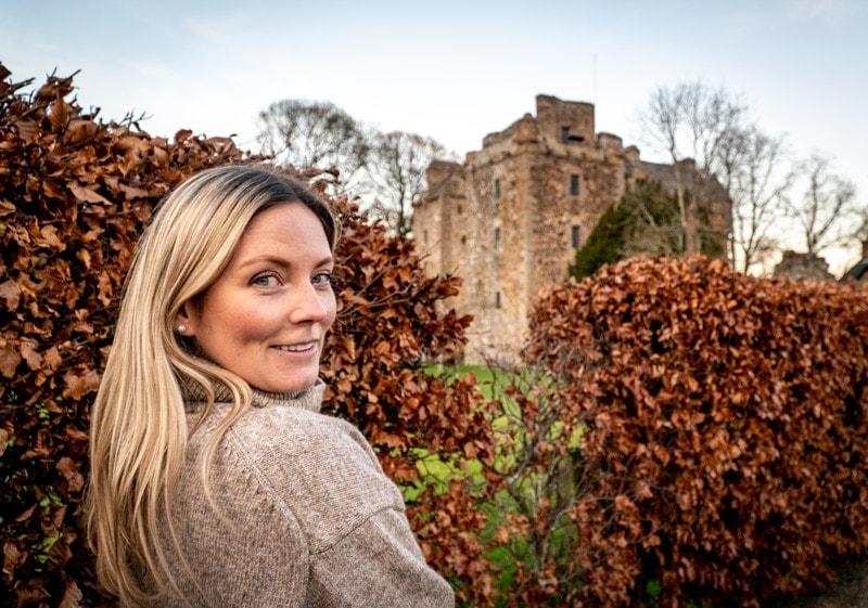 Exploring castles in Scotland