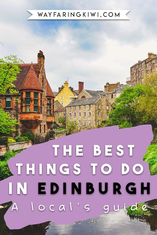 Are you planning a trip to Edinburgh Scotland? Make sure you read my best tips on things to do in Edinburgh! I've been living in Edinburgh for over 1 year now, and here are my favourite things to see in Edinburgh. Don't forget to save this to your travel board so you can find it later! Edinburgh things to do in   What to do in Scotland   Scotland Edinburgh   Edinburgh Scotland Castle   Dean Village Edinburgh #thingstodoinedinburgh #edinburgh #edinburghscotland