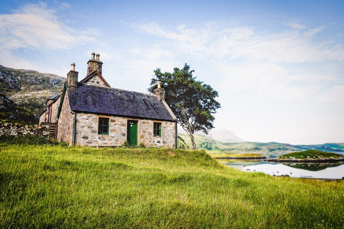 glencoul bothy is one of the best bothies in scotland