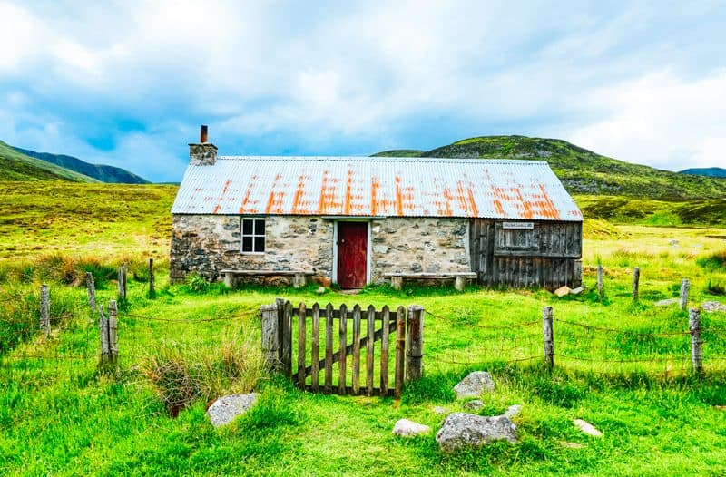 Best mountain bothies in Scotland