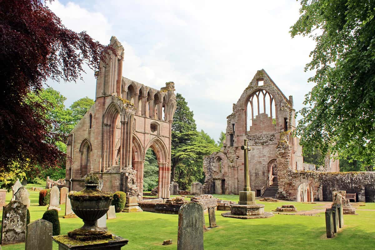 Romantic Places in Scotland Dryburgh Abbey