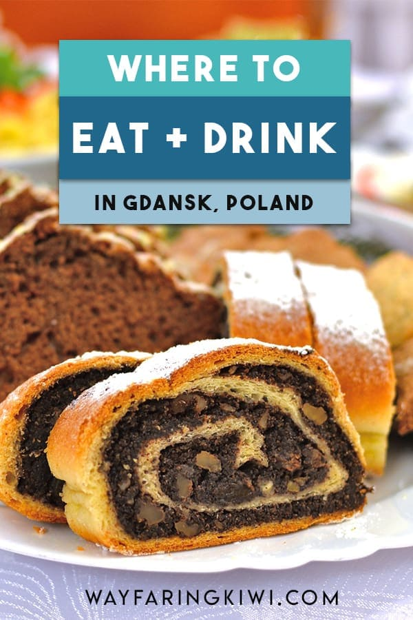 In this guide you will discover the best places to eat in Gdansk, the top Gdansk restaurants and traditional Gdansk food! Don't forget to save this to your travel board so you can find it later! #gdansk #gdanskfood #gdanskrestaurants