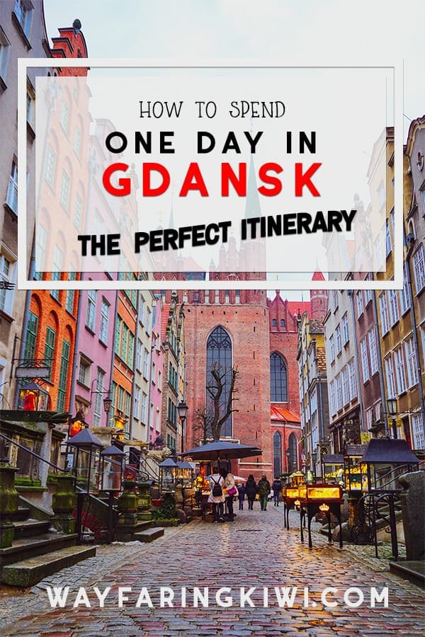 In this guide you will discover the best things to do in Gdansk in 1 day! You can experience Gdansk in 24 hours but you have to plan carefully. This Gdansk itinerary covers everything you need to know about visiting this amazing Polish city. Don't forget to save this to your travel board so you can find it later! #gdansk #gdanskpoland #thingstodoingdansk