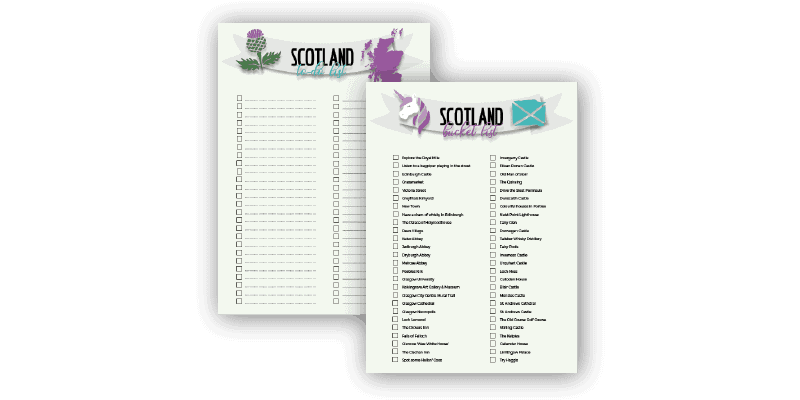 The Ultimate 10 Day Scotland Itinerary + Free Printable