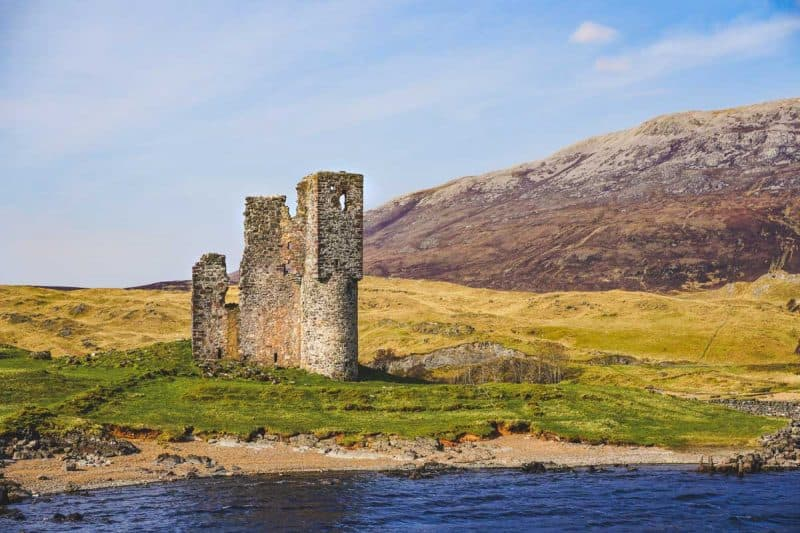 North Coast 500 highlights Ardvreck castle