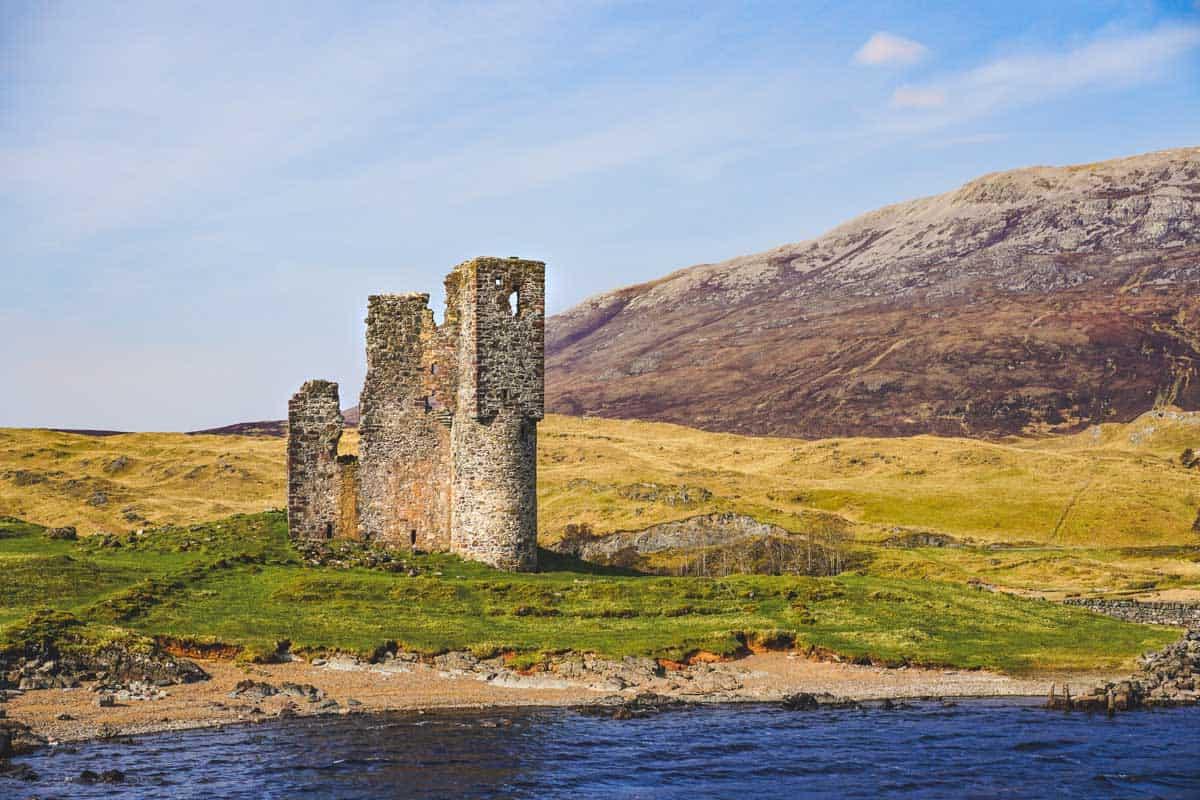 North Coast 500 highlights Ardvreck castle