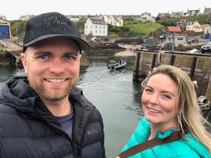 A day trip to St Abbs Scotland from Edinburgh