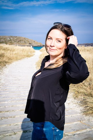Scotland Travel Blogger Yvette Morrissey aka Wayfaring Kiwi