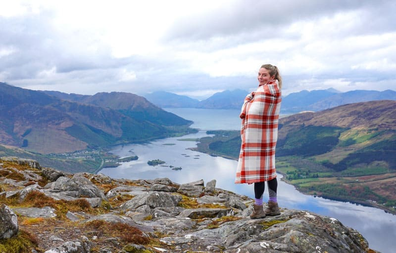 Hiking in the Scottish Highlands, a great budget activity