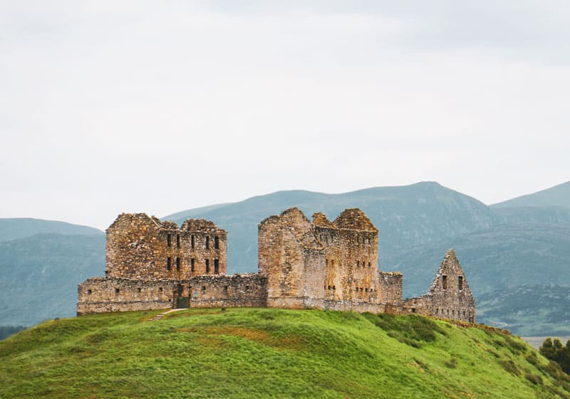 Ruthven Barracks is a free attraction you can visit in Scotland