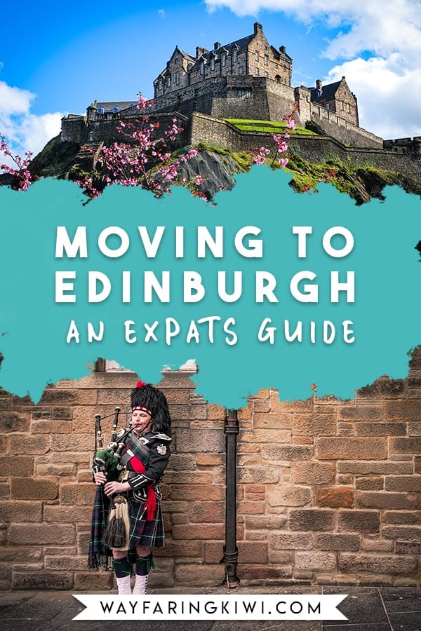 Are you thinking of moving to Scotland? I've been living in Edinburgh since 2018 and it is my favourite city in the world, however it can be confusing getting yourself set up here.In this article I'll give you my best tips for moving to Edinburgh, finding a job in Edinburgh, finding somewhere to live in Edinburgh- plus more. Don't forget to save this to your travel board so you can find it later! #edinburgh #livinginedinburgh #movingtoedinburgh