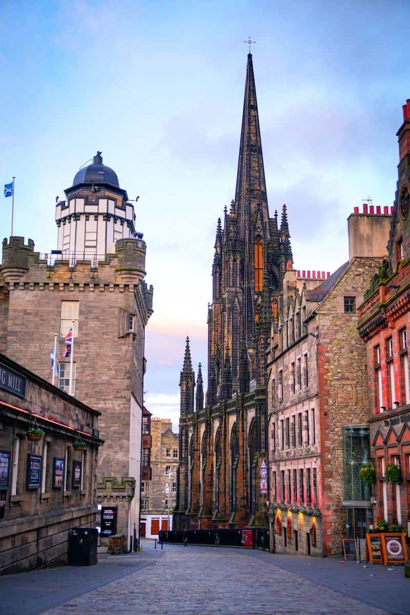 Royal Mile in Edinburgh