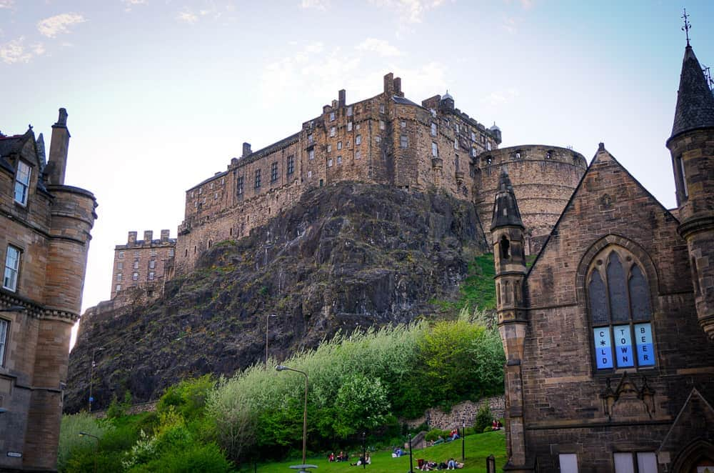 2 days in Edinburgh itinerary