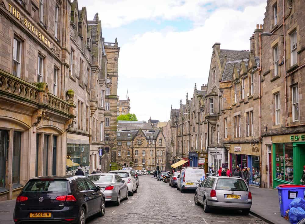 Edinburgh street