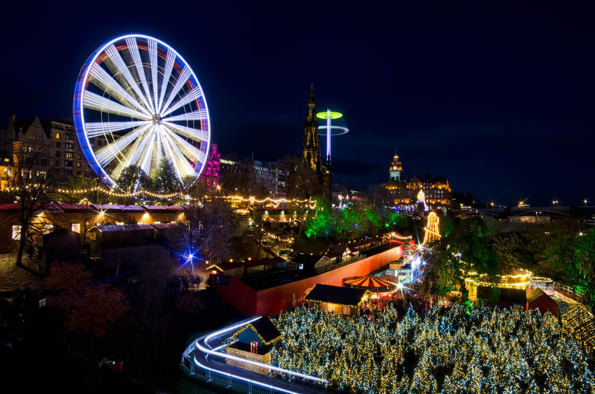 Edinburgh Christmas and New Year Opening Hours