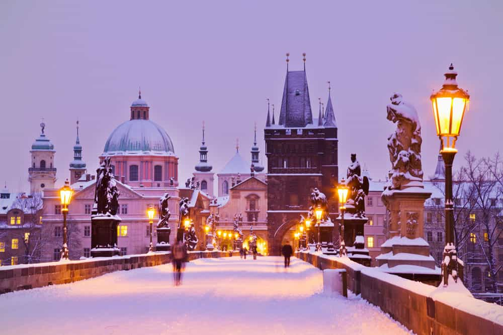 I'm planning a winter escape to Prague in 2020