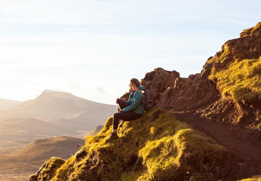 Wayfaring Kiwi hiking in Scotland