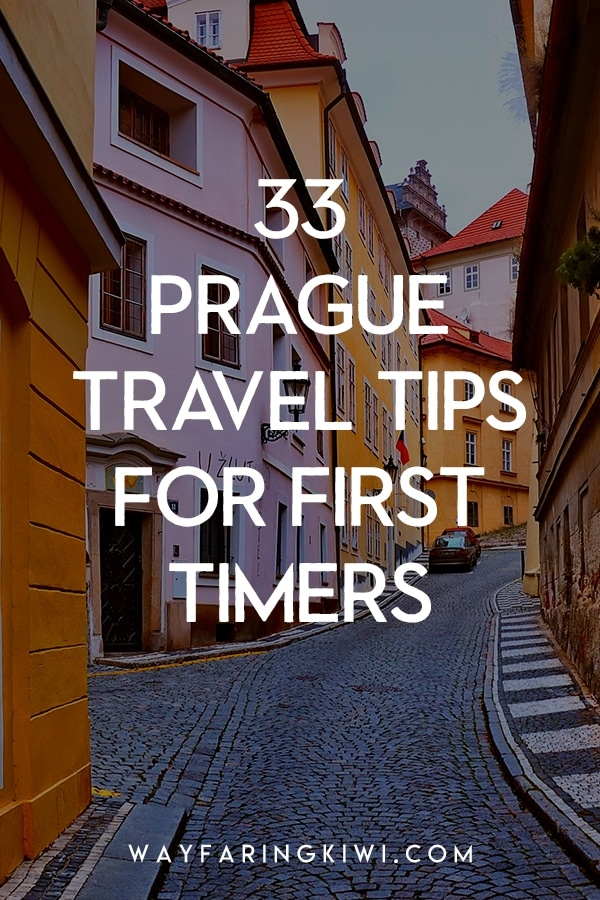 Visiting Prague for the first time? I've compiled 33 Prague travel tips for first time visitors. My tips will save you time and money, show you the best things to do in Prague, and you'll also learn a little history at the same time. Don't forget to save this to your travel board so you can find it later! Prague travel beautiful places | Prague travel tips things to do | Travel tips for Prague | Prague Czech Republic food travel tips | What to do in Prague | Visiting Prague #prague #praguetraveltips #praguetravelguide