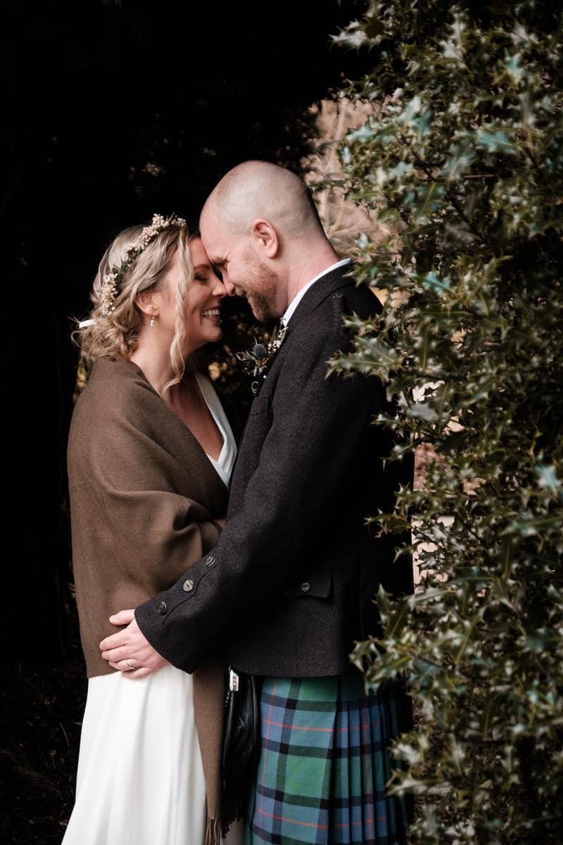 Yvette and Craig Webster wedding at Macdonald Houstoun House Hotel