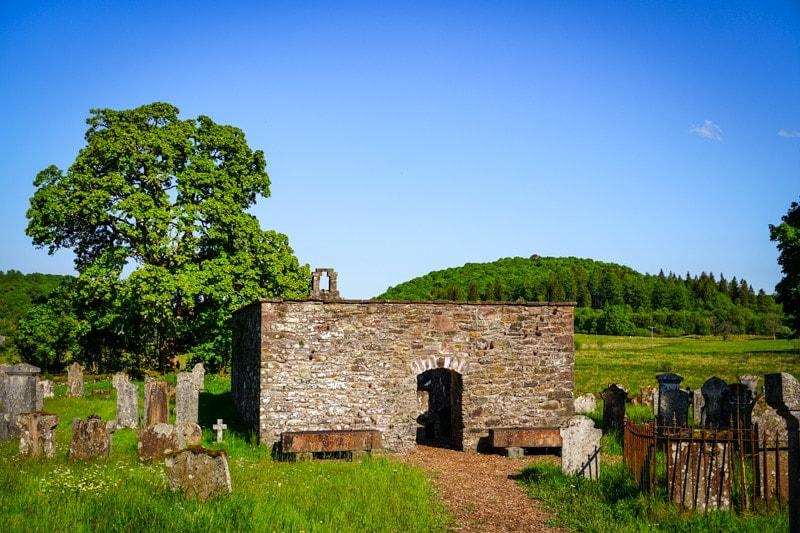 Aberfoyle Old Parish Church and Burial Ground