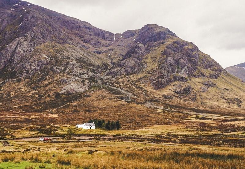 scotland itinerary 4 days
