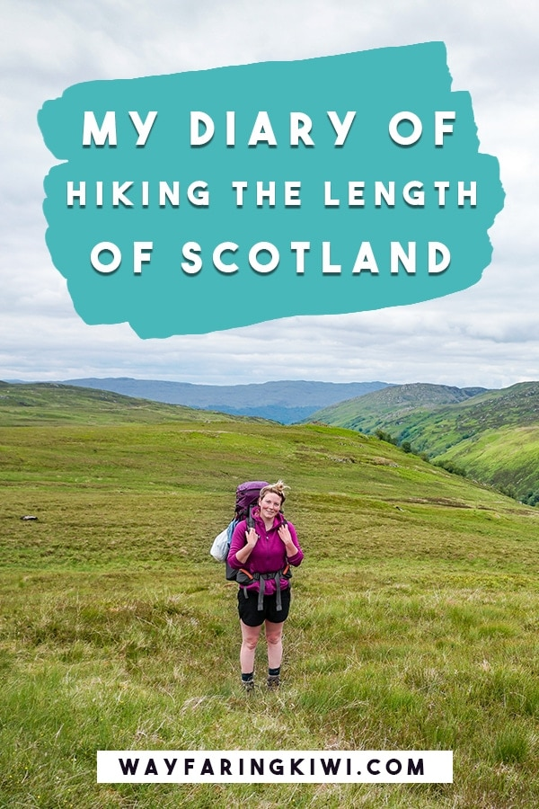 This is my experience hiking the length of Scotland, the Scottish National Trail. Don't forget to save this to your travel board so you can find it later! Hiking Scotland | Hiking in Scotland | Best hikes in Scotland | Scotland hikes | Scotland hiking | Best hikes Scotland | Long distance hikes #besthikesscotland #besthikesinscotland #hikinginscotland