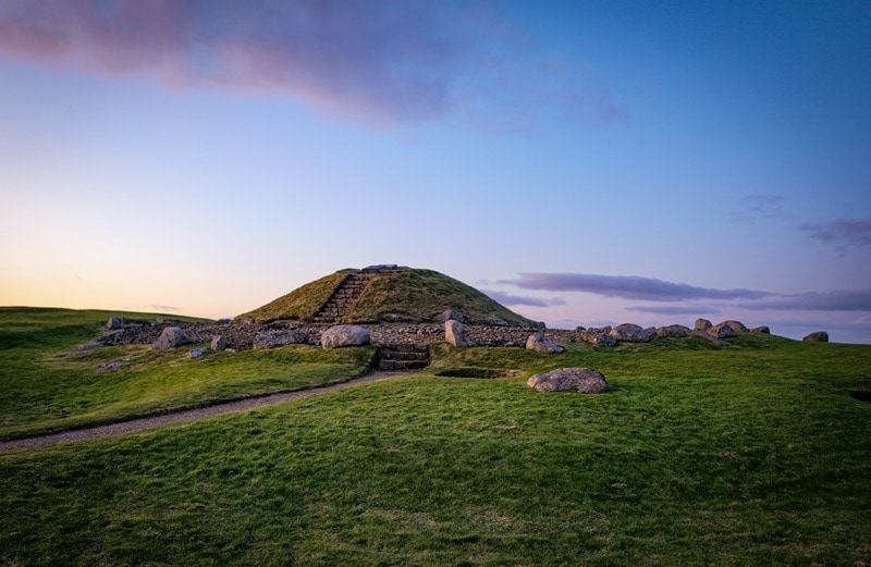 Cairnpapple hill in west lothian in scotland