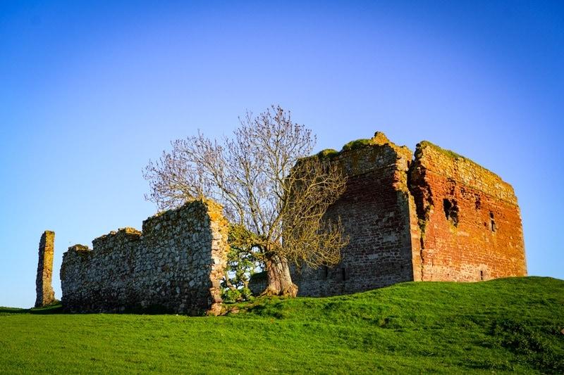 cessford castle in the scottish borders