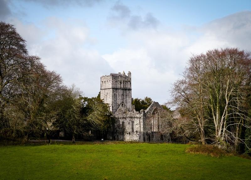 muckross abbey county kerry ireland