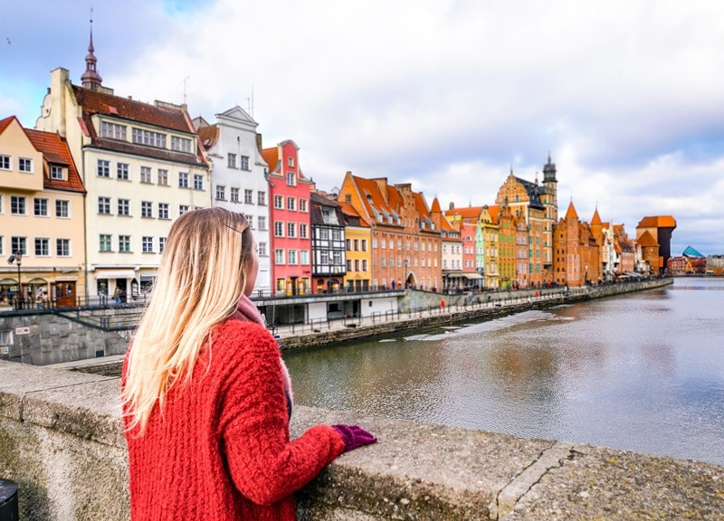 first time solo female travel destinations gdansk in poland