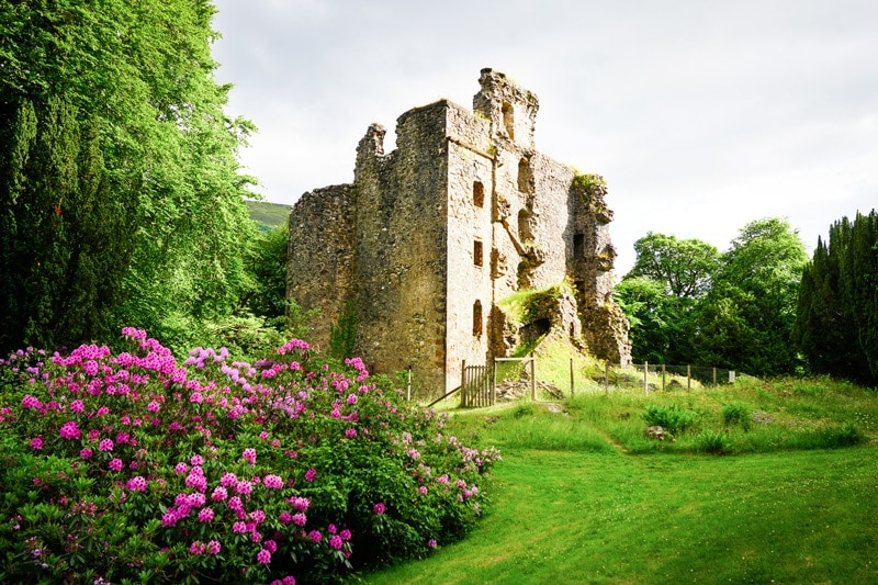 non touristy things to do in scotland invergarry castle