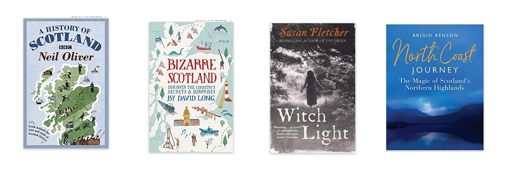 recommended scotland books to pack