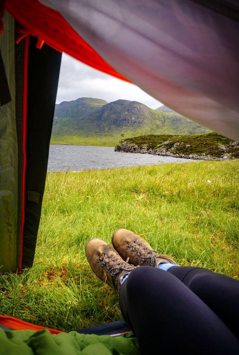 Scotland hiking blog wild camping in the scottish highlands