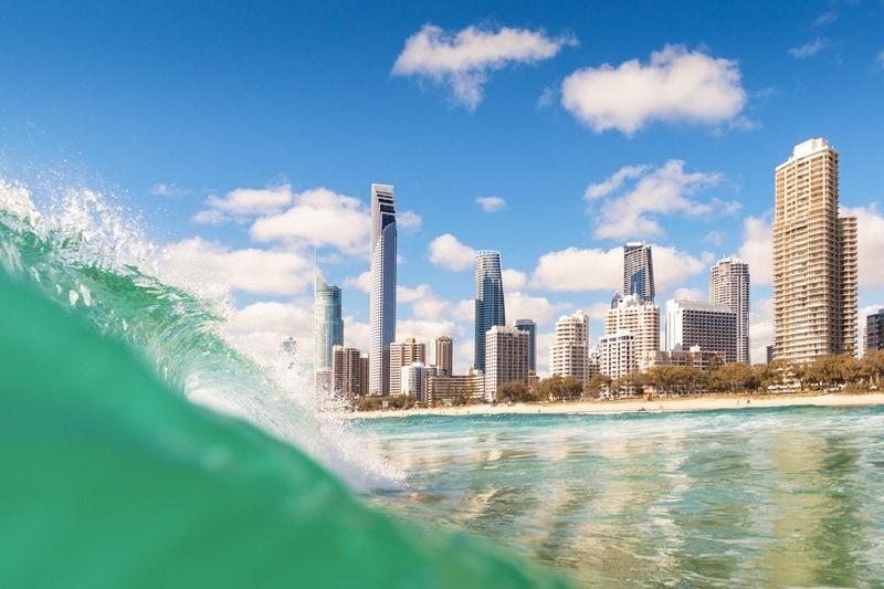 solo female travel destination surfers paradise in gold coast australia