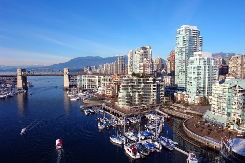 vancouver in canada is a great place for solo female travellers