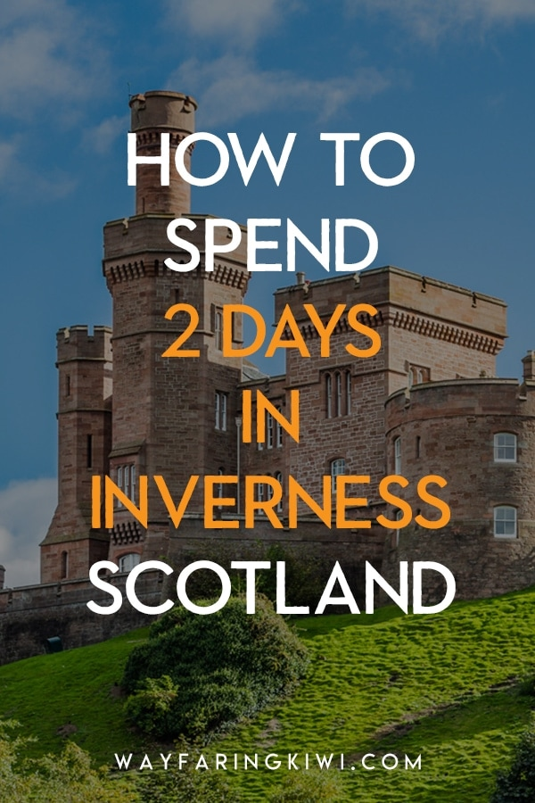 Are you visiting Inverness in Scotland? Inverness is known as the capital of the Scottish Highlands, and 2 days in Inverness is a good amount of time to experience what the city has to offer. I've put together the ultimate 2 day Inverness itinerary for you. Don't forget to save this to your travel board so you can find it later! Inverness Scotland things to do   Inverness Scotland Scottish Highlands   Inverness Scotland itinerary   Inverness Scotland Culloden   things to do near Inverness   best things to do in Inverness   weekend in inverness #invernessitinerary #scottishhighlands #inverness