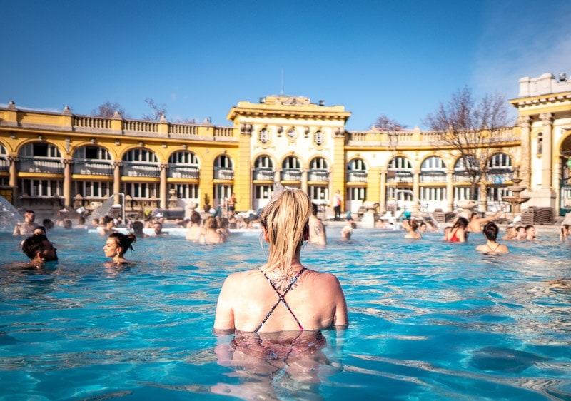 Széchenyi Thermal Bath budapest hungary