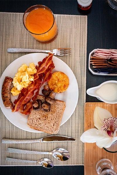 hilton budapest breakfast