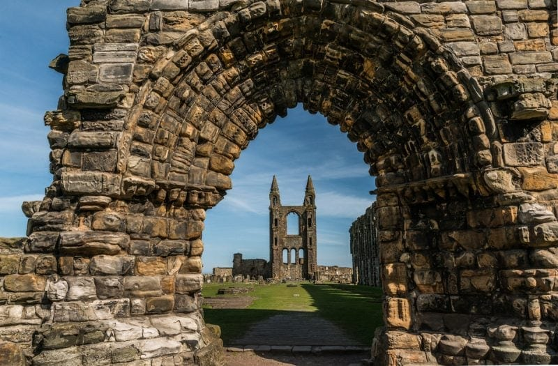 Best things to do in St Andrews: St Andrews cathedral