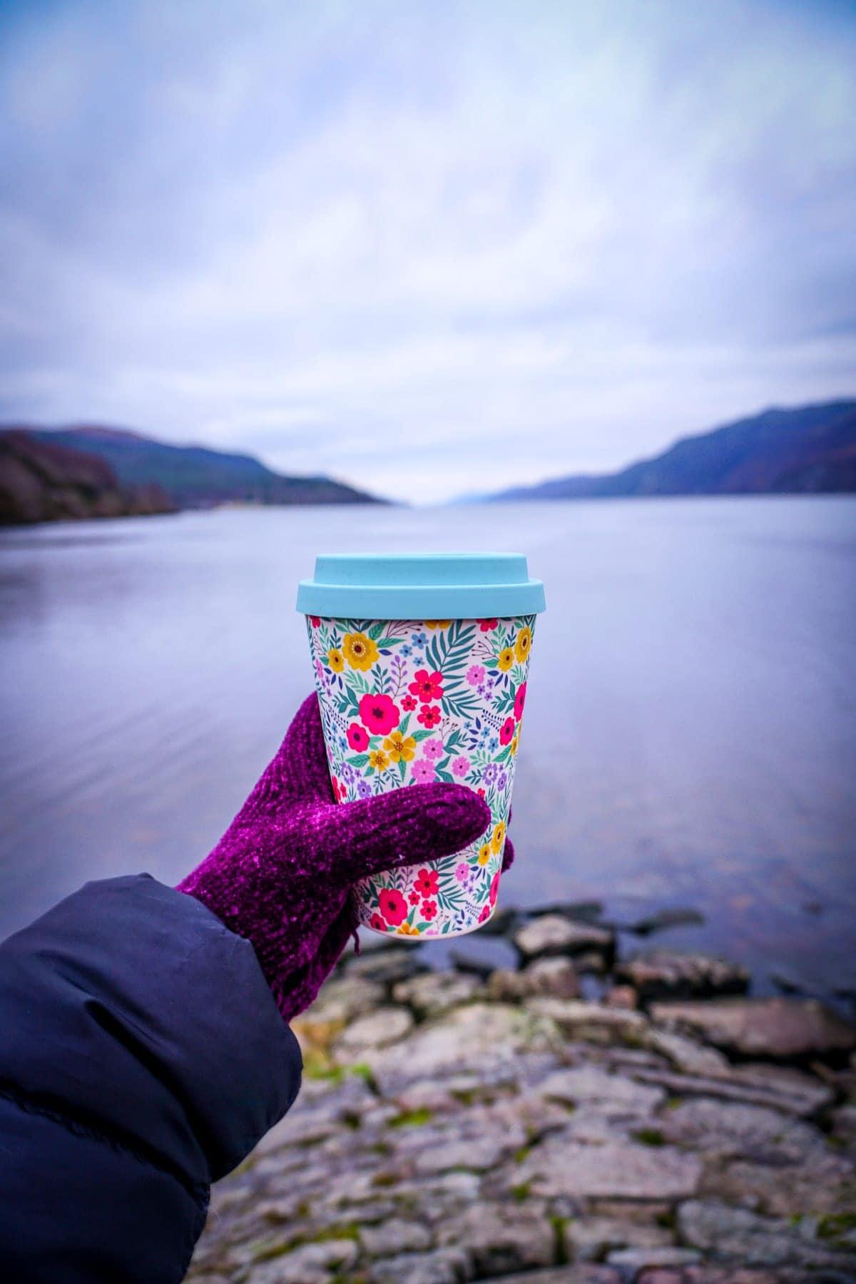sustainable tourism in scotland travel mug