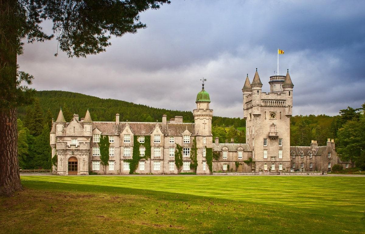 balmoral castle on the castle trail