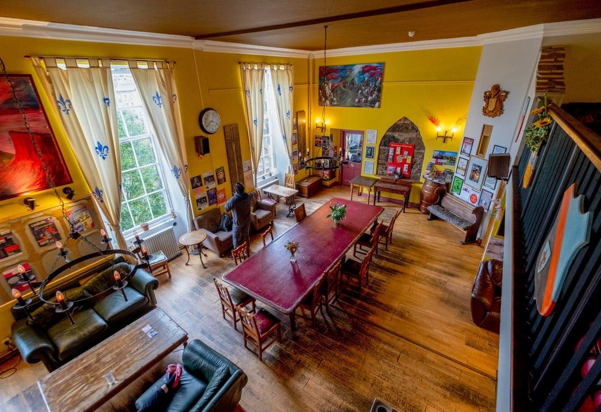 castle rock hostel in edinburgh is one of the best hostels in scotland