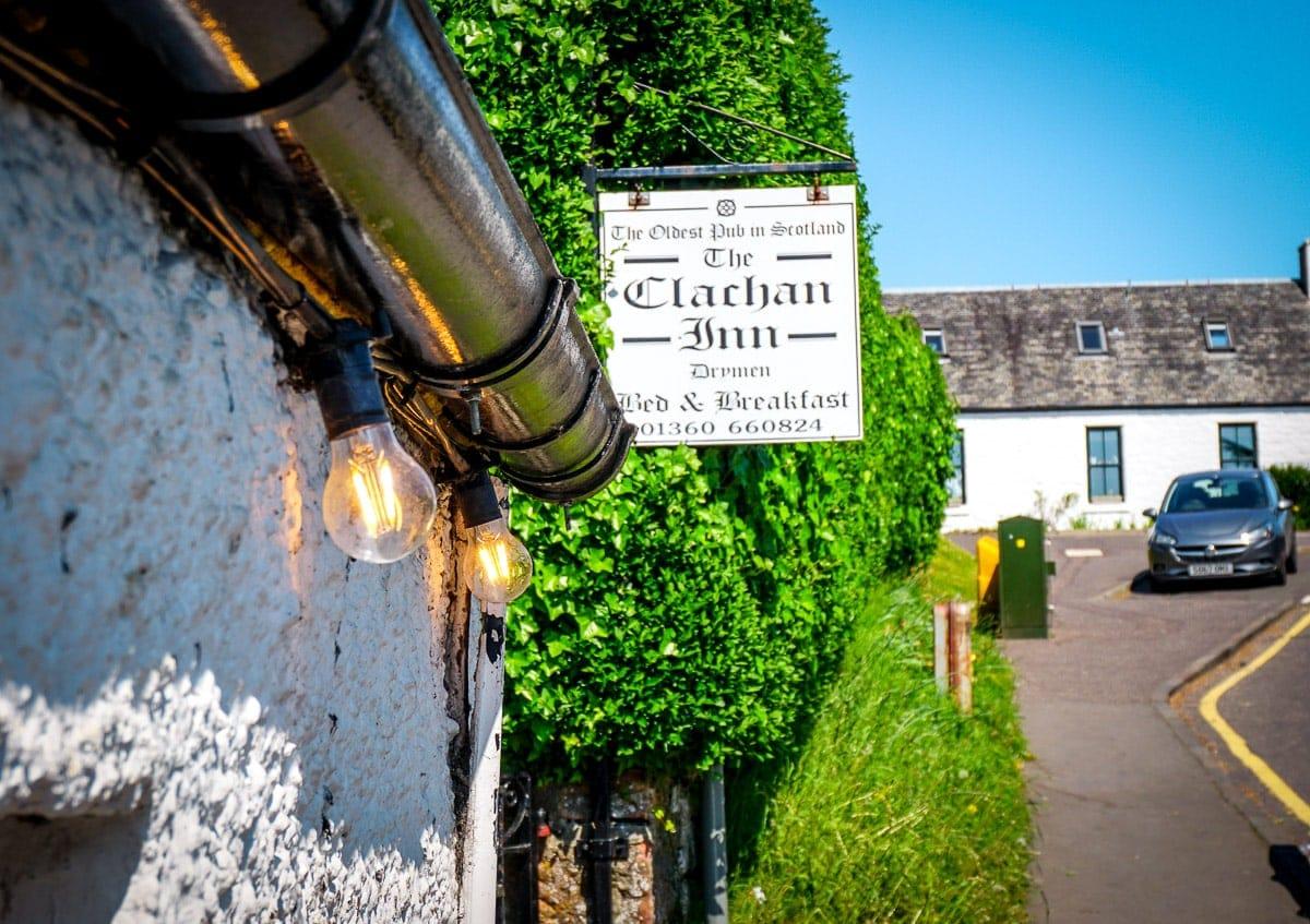 best scottish pubs the clachan inn in drymen