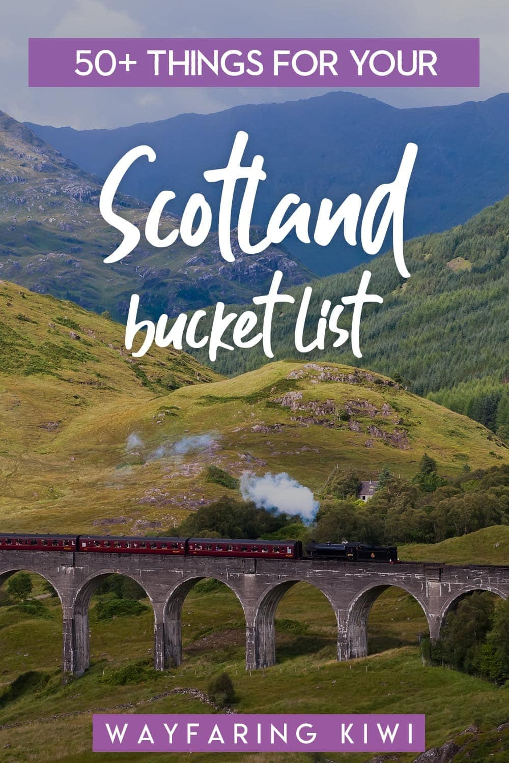 My Scotland Bucket List: 50+ Things I Want To See & Do