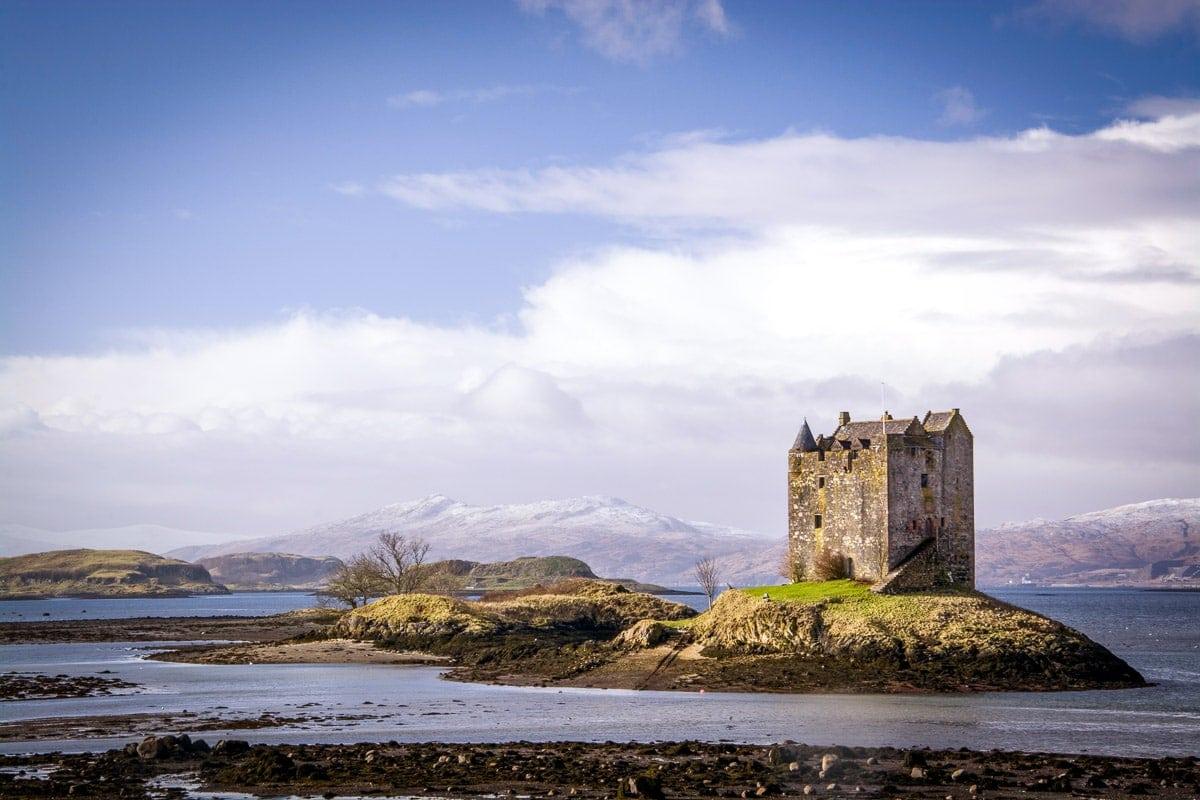 castle stalker is on my Scotland bucket list