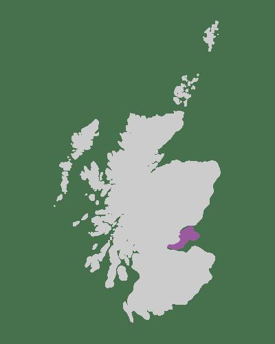 kingdom of fife scotland map