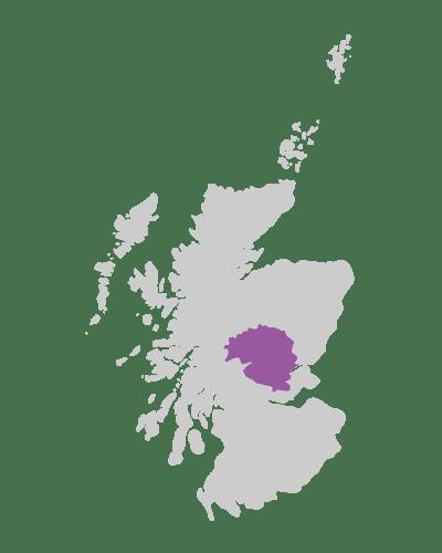 perthshire scotland map