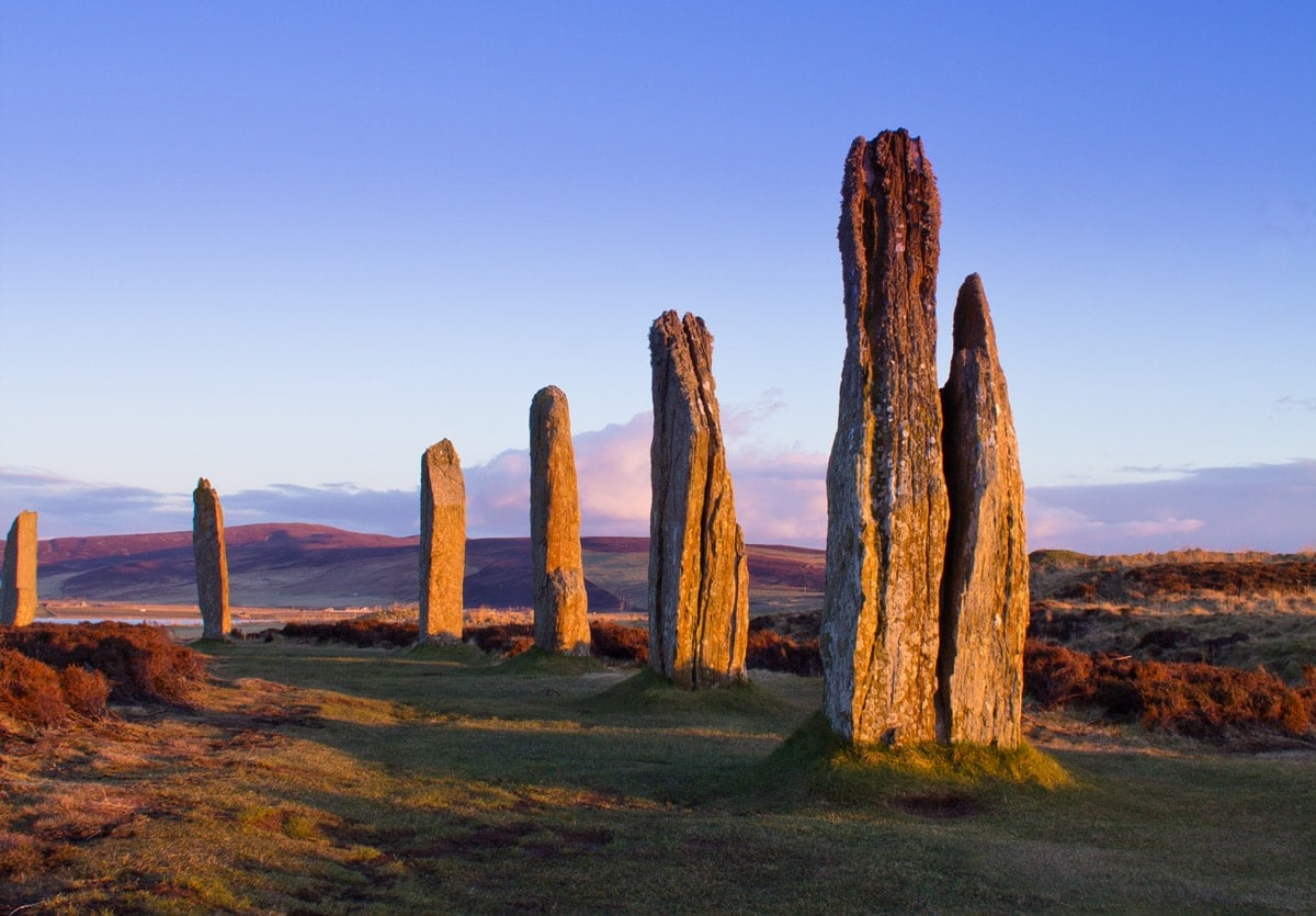 the ring of brodgar in orkney