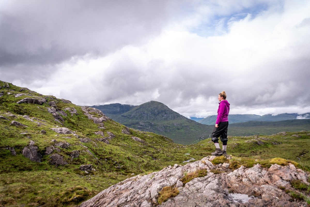 hiking in the scottish highlands is on my scotland bucket list