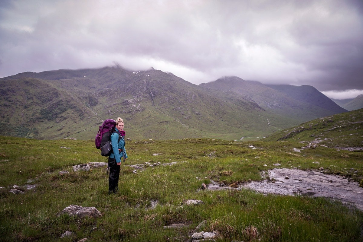 hiking the cape wrath trail section